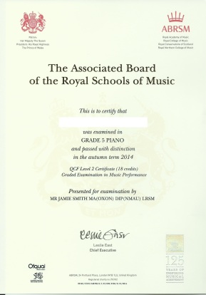 Jacky certificate ed
