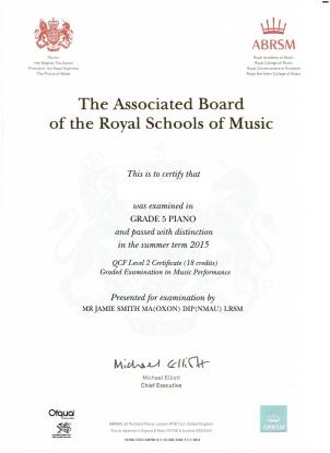 William certificate ed